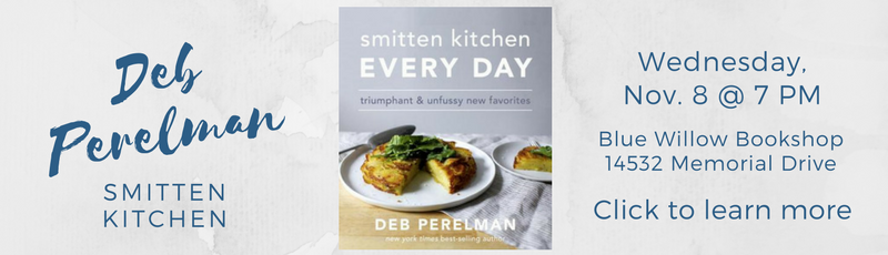 Deb Perelman (aka The Smitten Kitchen) will sign her newest cookbook SMITTEN KITCHEN EVERY DAY: TRIUMPHANT AND UNFUSSY NEW FAVORITES.